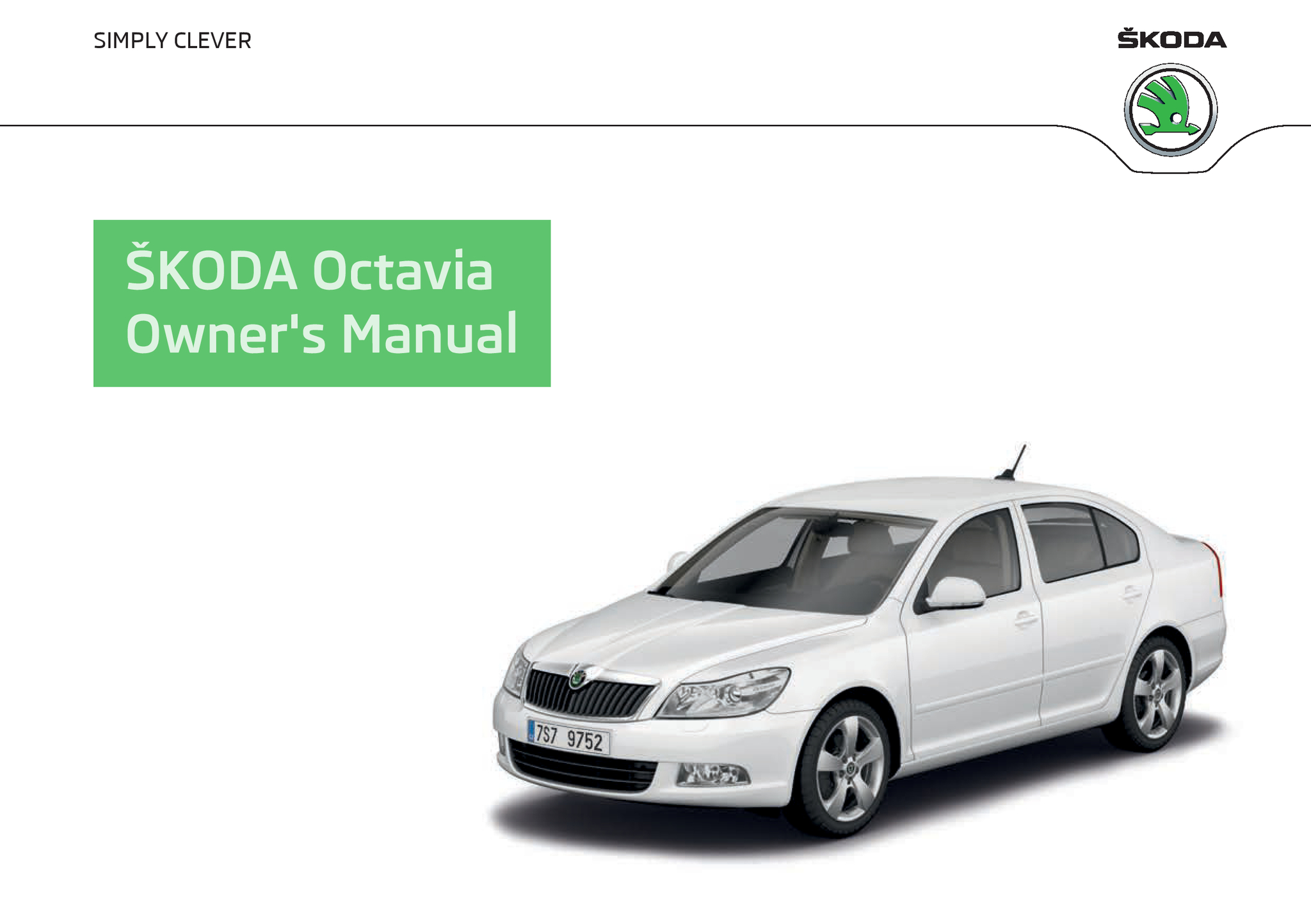 Å koda octavia since 11 2008 owner s manuals Å koda